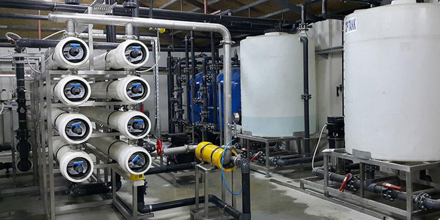 Система за обратна осмоза за морска вода AQUALINE TETRA