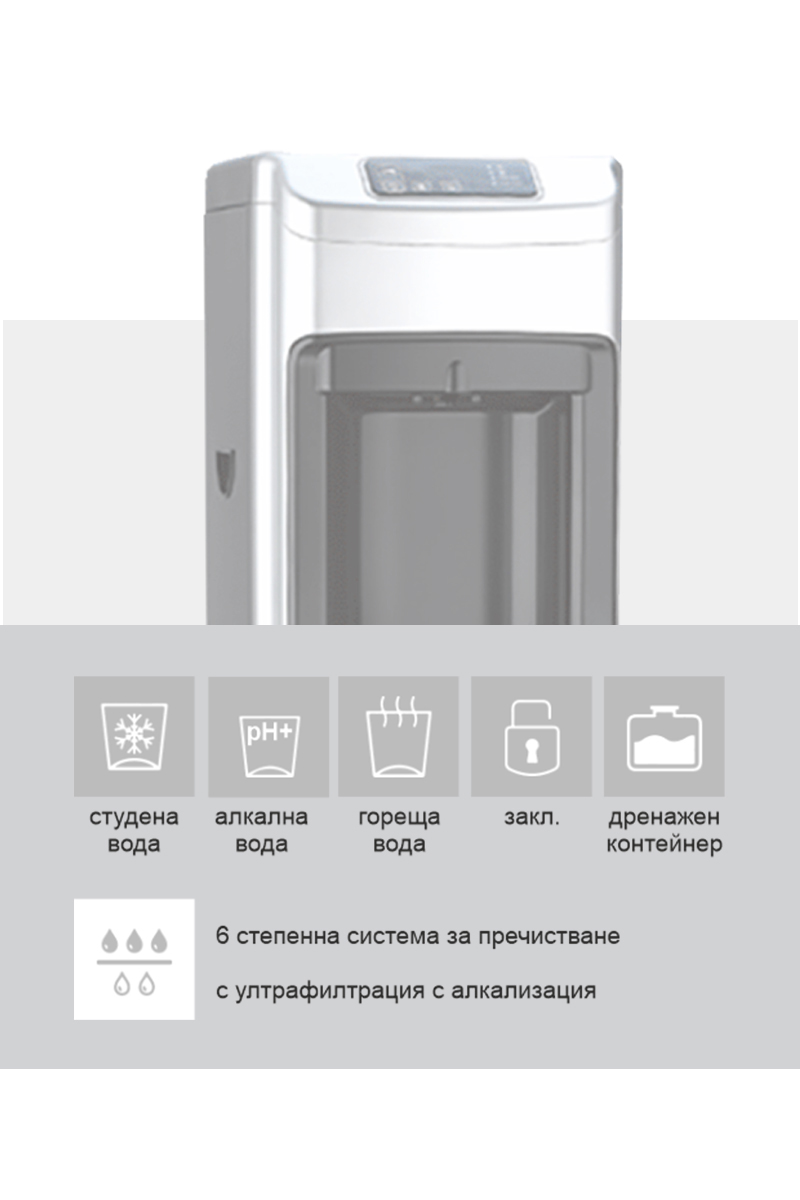 Диспенсър За Вода SmartWaterSpot CW 898